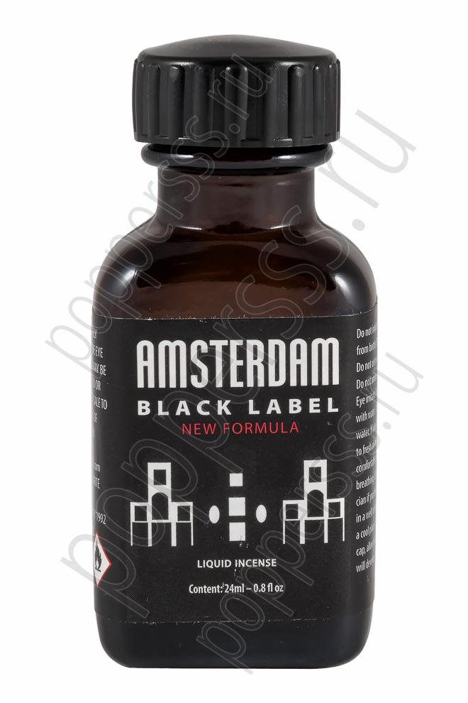 Попперс AMSTERDAM BLACK LABEL 24 мл